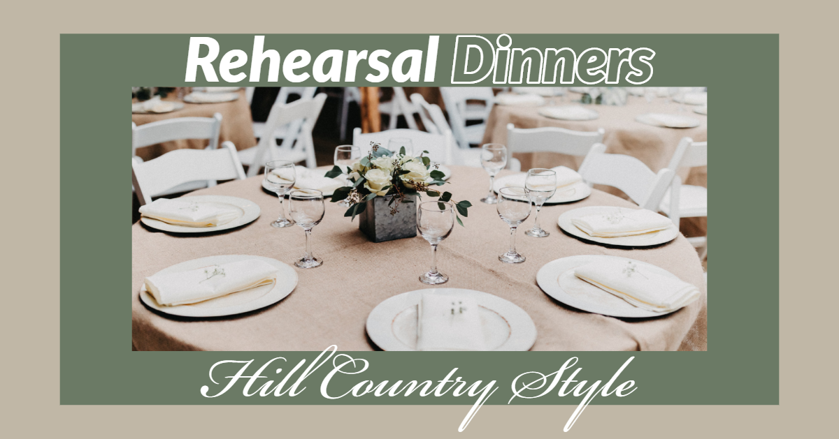 Rehearsal Dinners at Enchanted Springs Ranch
