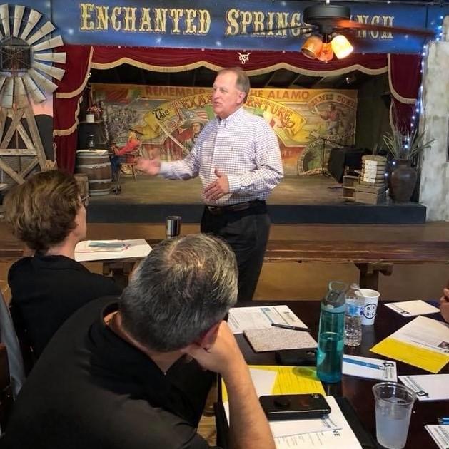 San Antonio Team Building Retreat Corporate Event Venue Workshop at Enchanted Springs Ranch
